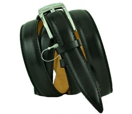 """Женский кожаный ремень для платья узкий 20мм """"Шарлотт"""", черный (арт. 103718) Millennium"""