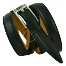 """Женский кожаный ремень для платья узкий 20мм """"Сан-Франциско"""", черный (арт. 103716)"""