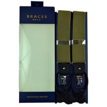 """Мужские премиум подтяжки для костюма в подарочной упаковке """"Ковров"""", цвет песочный (арт. 102847)"""
