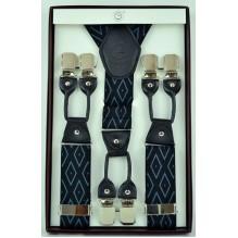 """Мужские премиум подтяжки для костюма в подарочной упаковке """"Арлингтон"""", цвет разноцветный (арт. 102789)"""