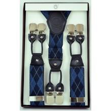 """Мужские премиум подтяжки для костюма в подарочной упаковке """"Талса"""", цвет разноцветный (арт. 102786)"""