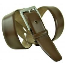 """Мужской классический кожаный ремень для брюк """"Колорадо-Спрингс"""", темно-коричневый (арт. 102780)"""