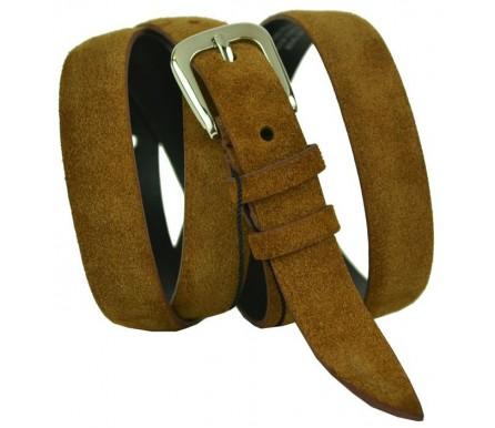 """Женский кожаный ремень для платья узкий 20мм """"Бийск"""", коричневый (арт. 103449) Elpaso"""
