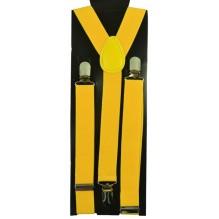 """Мужские узкие подтяжки """"Вашингтон"""", цвет желтый (арт. 102762)"""