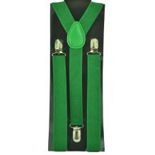 """Мужские узкие подтяжки """"Елец"""", цвет зеленый (арт. 102507)"""