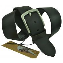 """Широкий мужской кожаный ремень для джинс 45мм """"Остин"""", черный (арт. 102429)"""