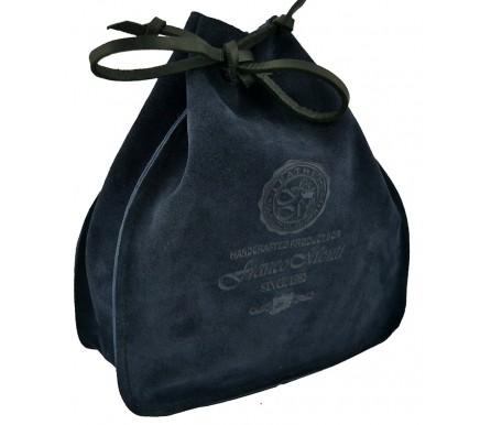 Мешок для Ремня темно-синий, замша (арт. 103856) Franco Monti