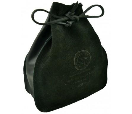 Мешок для Ремня темно-коричневый, замша (арт. 103864) Franco Monti
