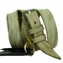 Женский узкий кожаный ремень (арт. 101022)