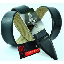Мужской ремень для брюк с полуавтоматической пряжкой (зажим) (арт. 100375)