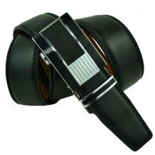 Мужской ремень для брюк с автоматической пряжкой (арт. 100520)