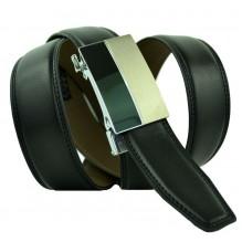 Мужской ремень для брюк с автоматической пряжкой (арт. 100444)