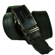 Мужской ремень для брюк с автоматической пряжкой (арт. 100428)