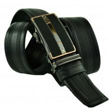 Мужской ремень для брюк с автоматической пряжкой (арт. 100432)
