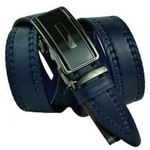 Мужской ремень для брюк с автоматической пряжкой (арт. 100385)
