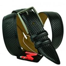 Мужской классический ремень для брюк с перфорацией (арт. 100560)
