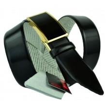 Мужской ремень для брюк с полуавтоматической пряжкой (зажим) (арт. 100371)