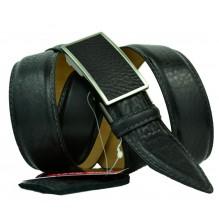 Мужской ремень для брюк с полуавтоматической пряжкой (зажим) (арт. 100363)