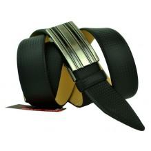 Мужской ремень для брюк с полуавтоматической пряжкой (зажим) (арт. 100361)