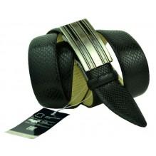 Мужской ремень для брюк с полуавтоматической пряжкой (зажим) (арт. 100362)