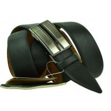 Мужской ремень для брюк с полуавтоматической пряжкой (зажим) (арт. 100360)