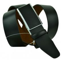 Мужской ремень для брюк с полуавтоматической пряжкой (зажим) (арт. 102150)