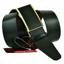 Мужской ремень для брюк с полуавтоматической пряжкой (зажим) (арт. 102151)