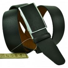 Мужской ремень для брюк с полуавтоматической пряжкой (зажим) (арт. 102153)