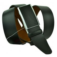 Мужской ремень для брюк с полуавтоматической пряжкой (зажим) (арт. 102154)
