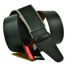 Мужской ремень для брюк с полуавтоматической пряжкой (зажим) (арт. 102155)