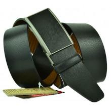 Мужской ремень для брюк с полуавтоматической пряжкой (зажим) (арт. 102157)