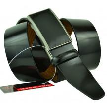 Мужской ремень для брюк с полуавтоматической пряжкой (зажим) (арт. 102158)