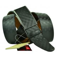 Мужской ремень для брюк с полуавтоматической пряжкой (зажим) (арт. 102161)