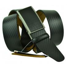 Мужской ремень для брюк с полуавтоматической пряжкой (зажим) (арт. 102162)