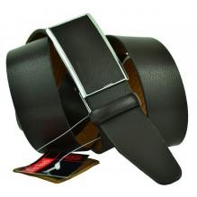 Мужской ремень для брюк с полуавтоматической пряжкой (зажим) (арт. 102163)