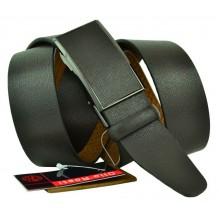 Мужской ремень для брюк с полуавтоматической пряжкой (зажим) (арт. 102164)