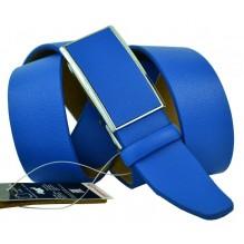 Мужской ремень для брюк с полуавтоматической пряжкой (зажим) (арт. 102167)
