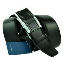 Мужской ремень для брюк с полуавтоматической пряжкой (зажим) (арт. 100456)