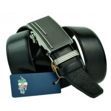 Мужской ремень для брюк с автоматической пряжкой (арт. 100452)