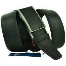 Мужской ремень для брюк с полуавтоматической пряжкой (зажим) (арт. 100457)