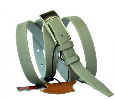 Женский узкий кожаный ремень (арт. 101023) Elpaso
