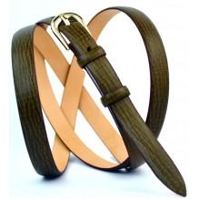 Женский узкий кожаный ремень (арт. 101389)