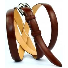 Женский узкий кожаный ремень (арт. 101395)