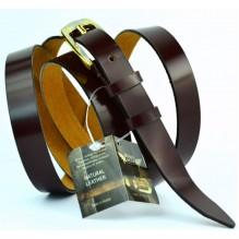 Женский узкий кожаный ремень (арт. 101443)