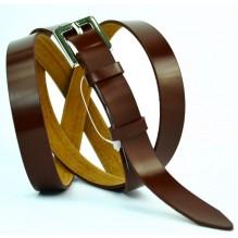 Женский узкий кожаный ремень (арт. 101444)