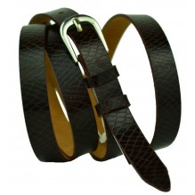 Женский узкий кожаный ремень (арт. 101416)