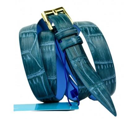 Женский узкий кожаный ремень (арт. 101122) Mayer