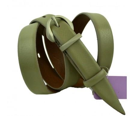 Женский узкий кожаный ремень (арт. 101134) Mayer