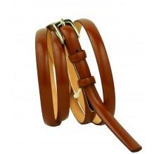 Женский узкий кожаный ремень (арт. 101332)
