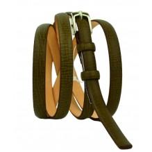 Женский узкий кожаный ремень (арт. 101333)